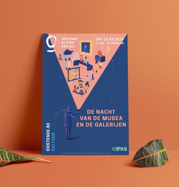 Nacht van de Musea en Galerijen Stad Oostende 2019