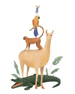 Stapel dieren