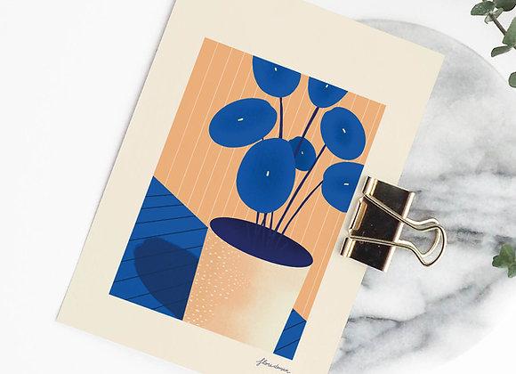 Postkaart: Plant