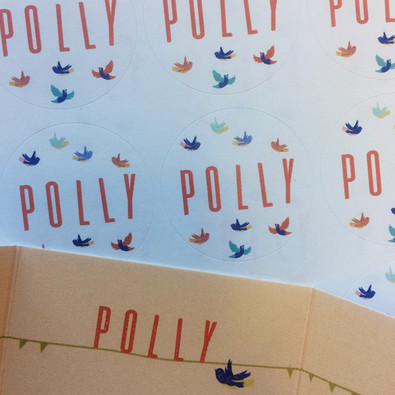 Polly - stickers