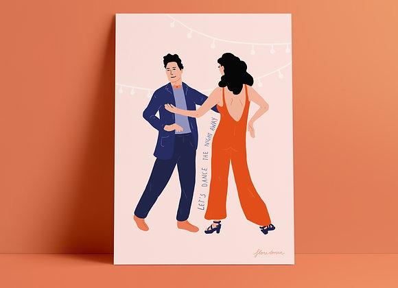 Print: dance