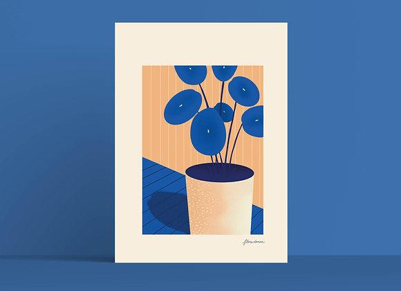 Print: plant