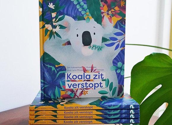Koala zit verstopt