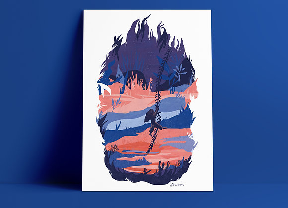Print: jungle