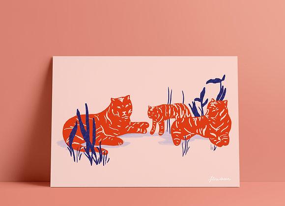 Print: tijger
