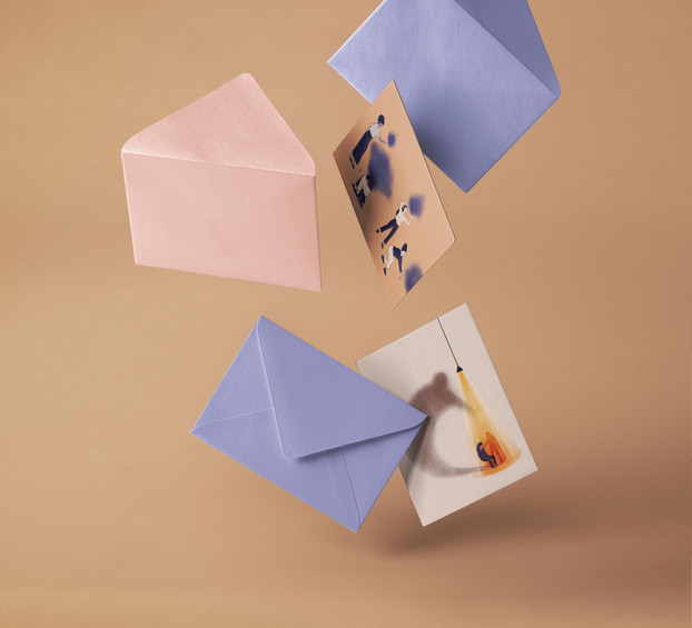 Postkaartenproject: mentale gezondheid (Liese Aerts)
