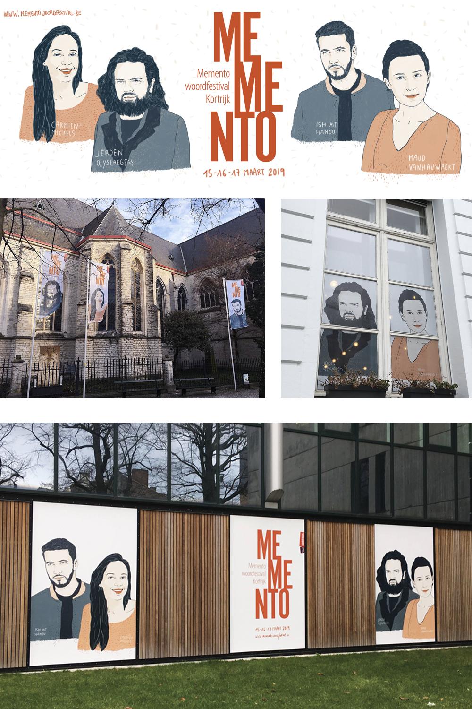 Memento Woordfestival Kortrijk