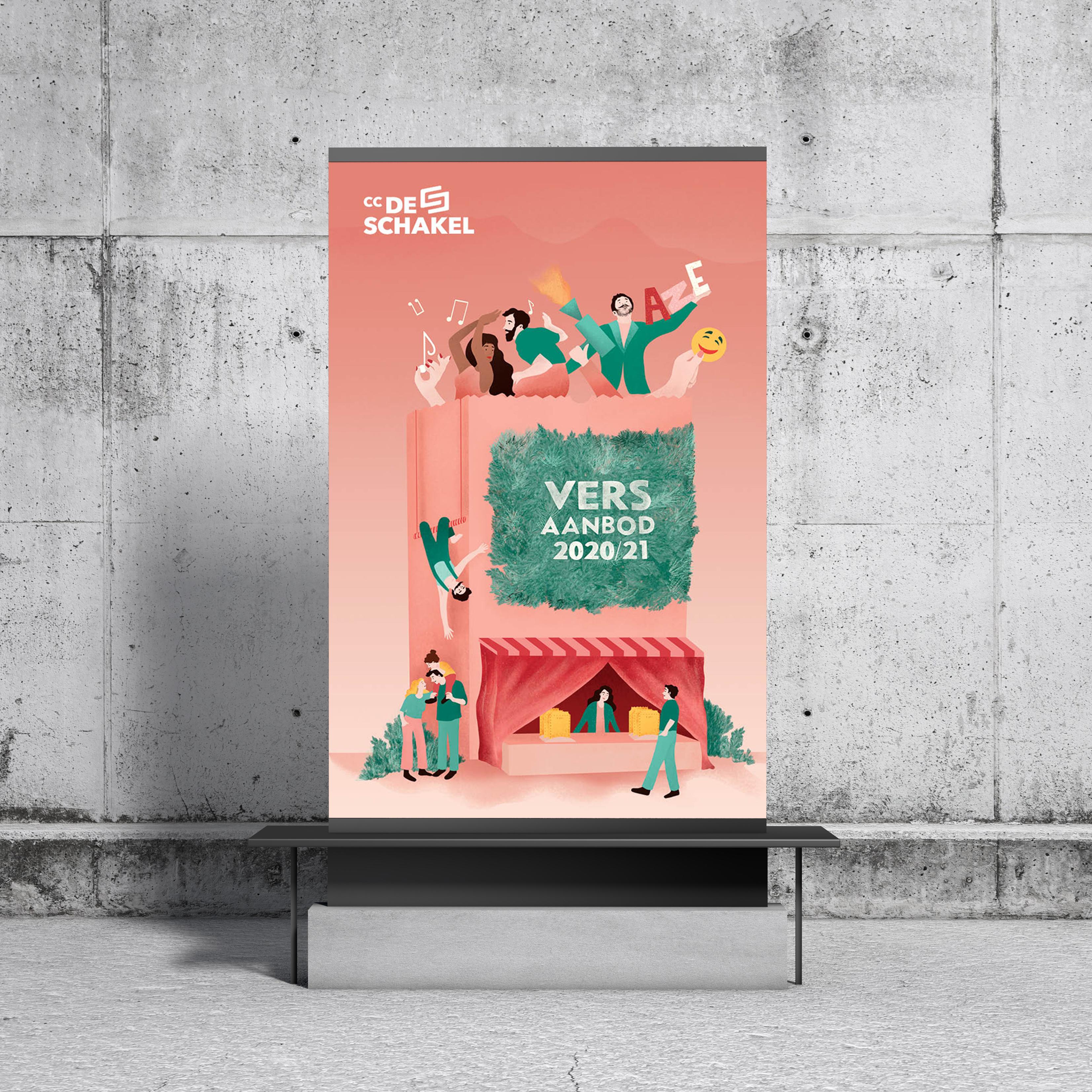 Seizoenscampagne CC De Schakel 2020-2021