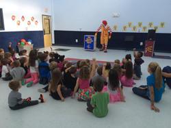 Ronald McDonald Came for a Visit!