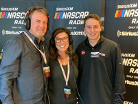 Mike & Angie Skinner with Christopher Bell