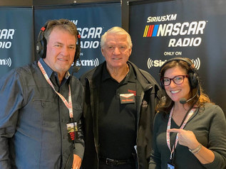 Mike & Angie Skinner with Ivan Stewart (center)