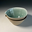 Thumbnail: 2 x cereal bowls olive green and turquoise