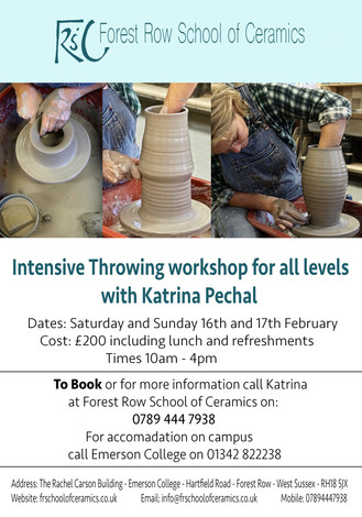 Workshops Announced for 2019