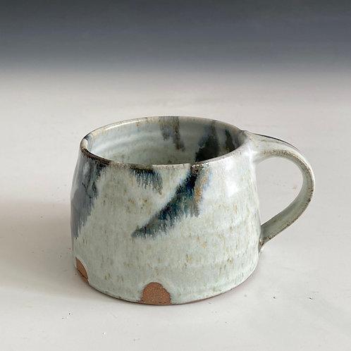white ash mug