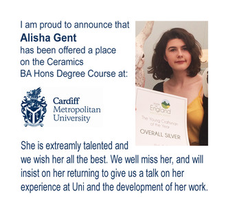 Alisha is off to Cardiff University!!!!!