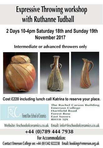 Ruthanne Tudball's Workshop coming soon