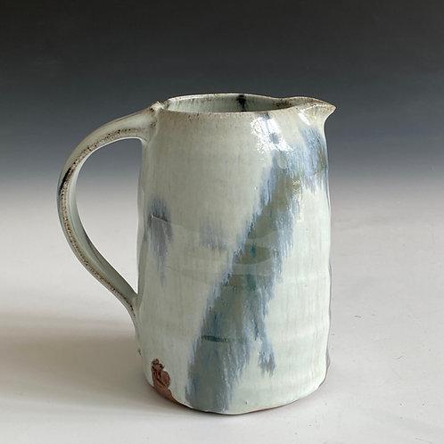 L white ash jug