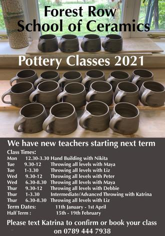 Next Years Classes