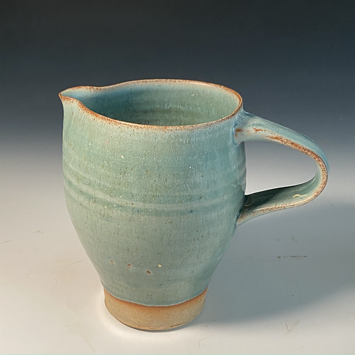 Large Turquoise Jug 16cm high