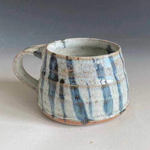 coffee mug vertical strips