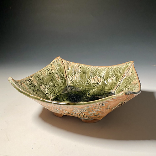Green Square Bowl