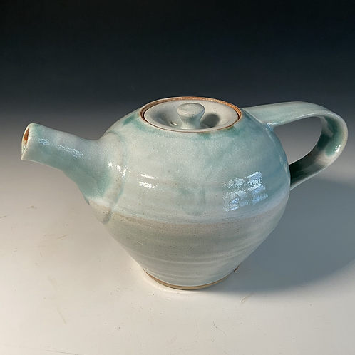 Pale Turquoise Teapot