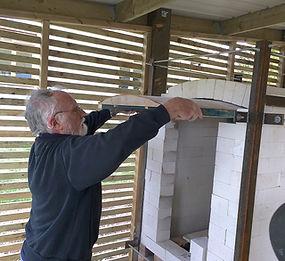 Full-time-course | UK | Forest Row School of Ceramics Joe Finch soda kiln building