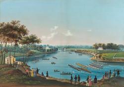 The_First_Schuylkill_Regatta_by_Nicolino_Vicompte_Calyo,_c_1835
