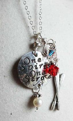 One Spirit One Stroke necklace