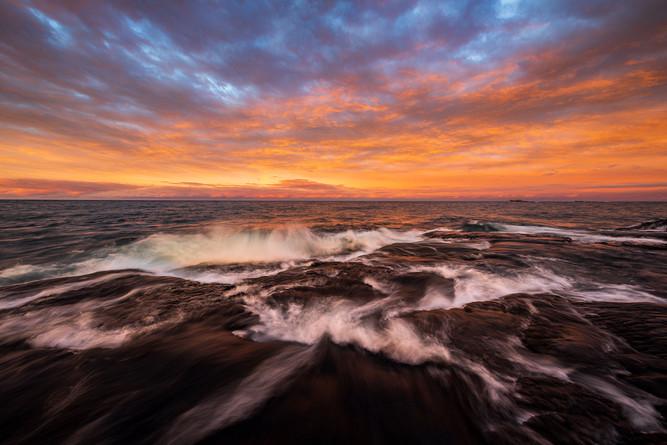 Sunset-4,-Lake-Superior,-Presque-Isle-Pa
