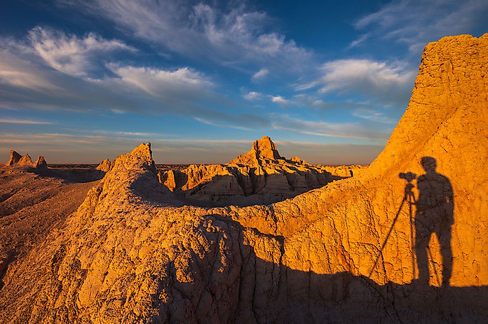 Sunset-1,-Window,-Badlands-National-Park