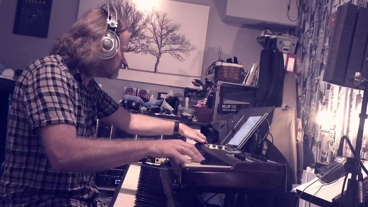 Tiny teaser #1 from Hammond day 🎹👍#magicpie #progrock