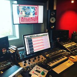 Studio drum recording 2
