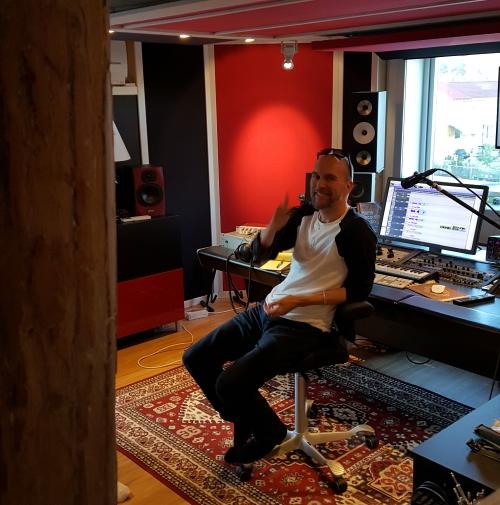 Studio drums Oyvind