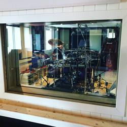 Studio drum recording 1