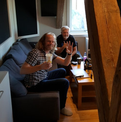Studio drums Erling and LP