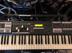 Churchorgan drawbars Magic Pie recording