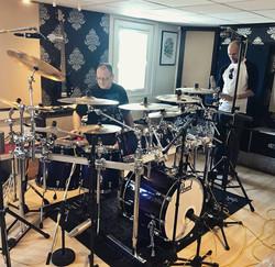 Studio drum recording 4