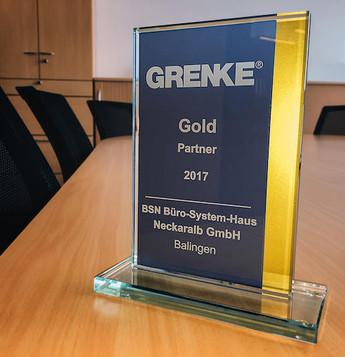 Gold Status für BSN!