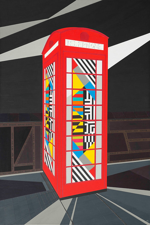 'OMD Phone Box 632 3003' Limited Edition Print