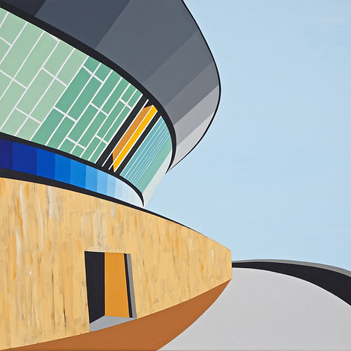 'Arena, Liverpool' Limited Edition Print 37x37cm