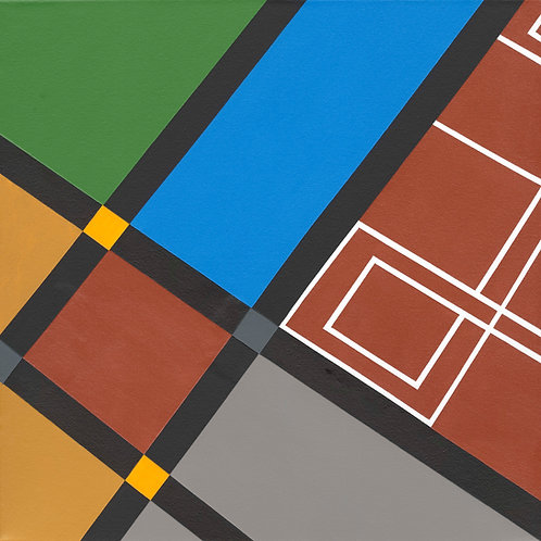 'Chester Cathedral Floor Study 1' Limited Edition Print