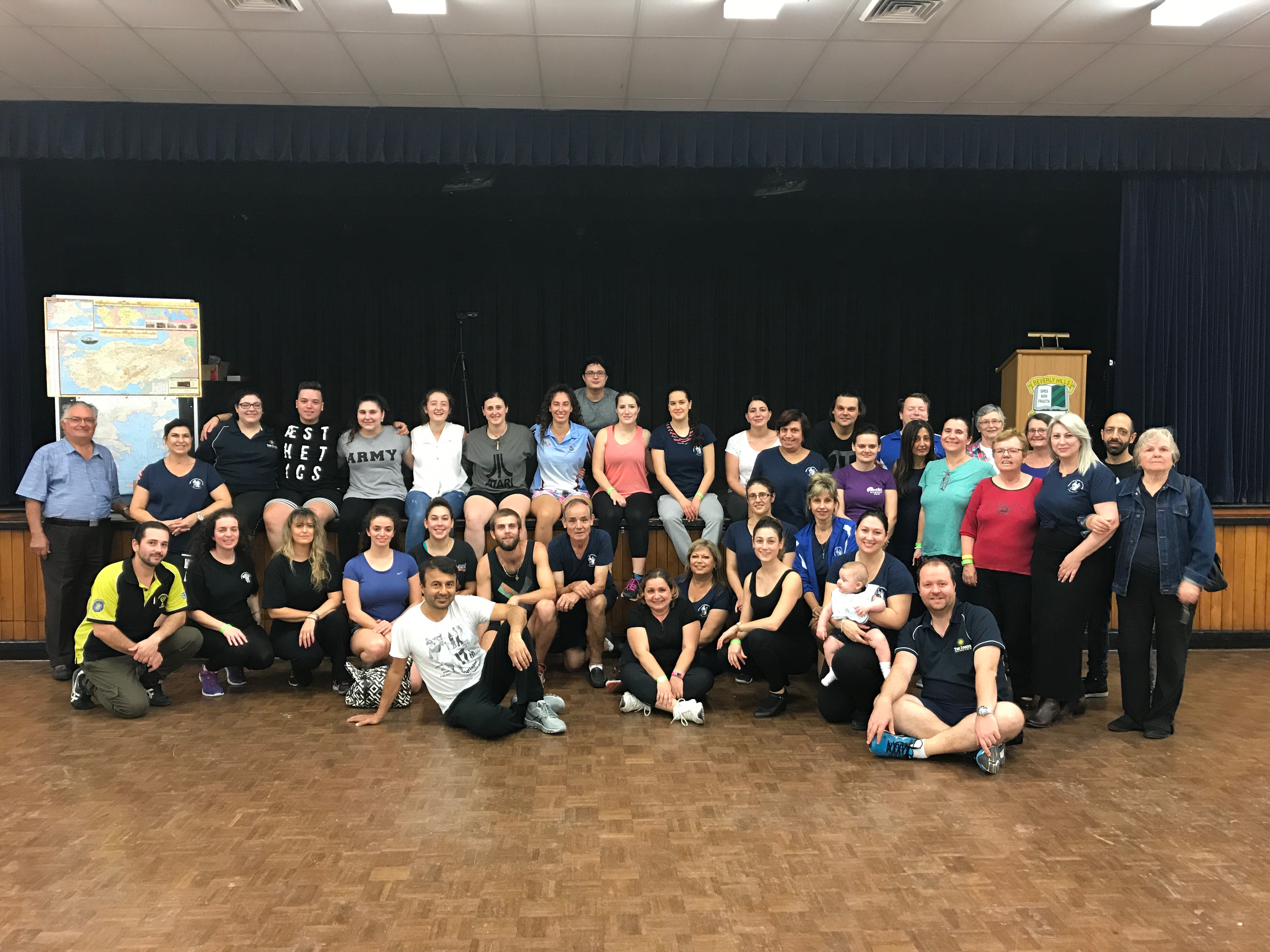 Sunday 23rd Dancers Vimata 2017