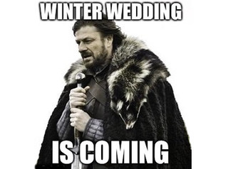 Winter Wedding Is Coming