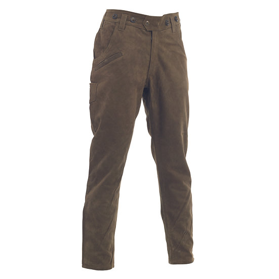 3031 Strasbourg Leather Boot Trousers 551-Brown