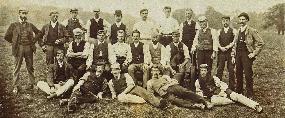 Chatsworth Cricket team 1870