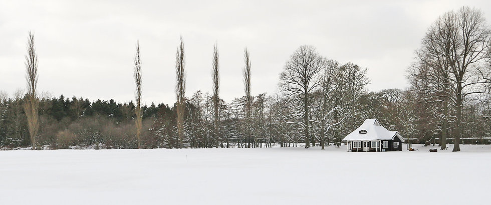 Chatsworth cricket club in snow paul slo