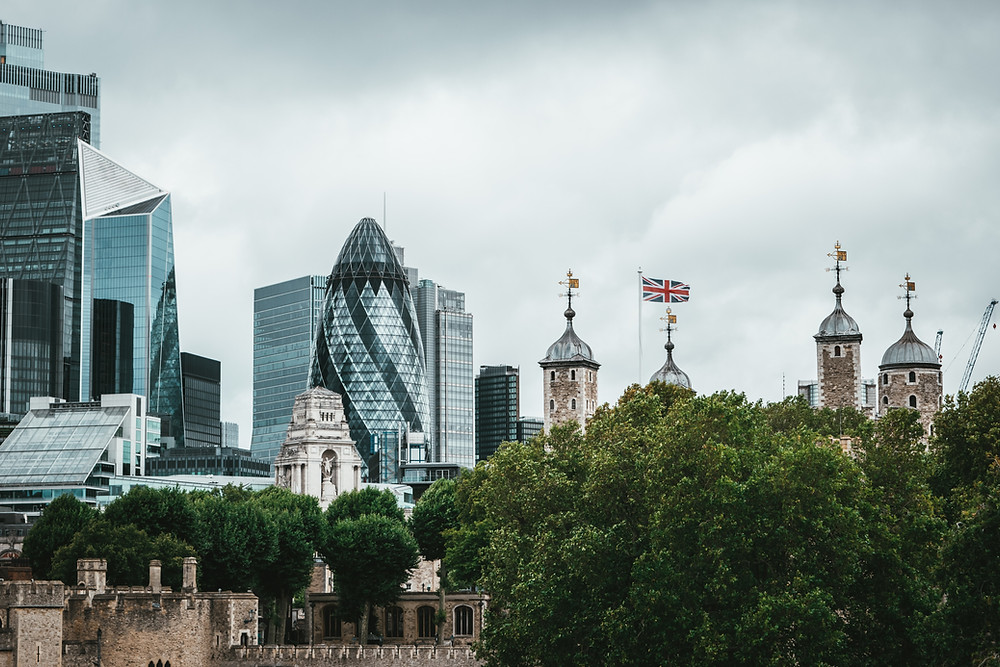 The City, London. Political risk considerations might influence new rules on stock offerings and acquisitions.