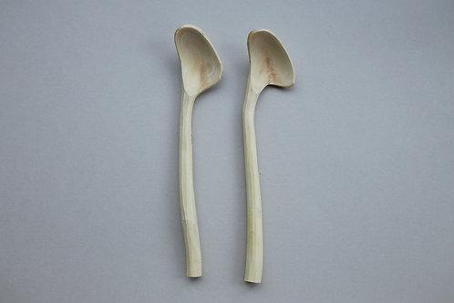 「枝のスプーン磨きキット」ジャムスプーン2本セット