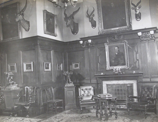 Officers' Mess Anteroom